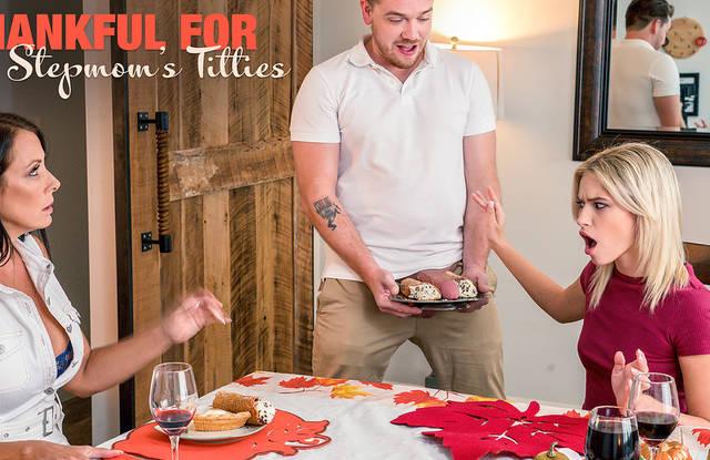Мать с дочкой активно сосут пацану толстый хрен на кухне и хотят проеба пизды